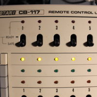Remote control for our Otari MX70 1-inch recorder