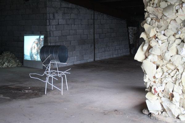 Video Installation by Anne Weber & Daniel Foerster, March 2017