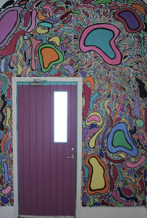 Chelsea Criger // Love Mural