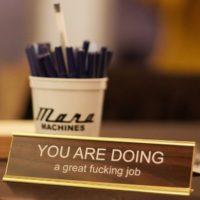 Desk sign cropped
